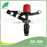 Mobile Plastic Sprinkler Irrigation System With Red Cap& Metal Nozzles