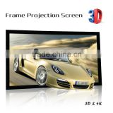 150 inch Office business projector screen picture frame projection Screen photo frame projector screen