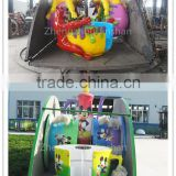 Amusement Rides Trailer Mounted Coffee Cup Ride, Portable Coffee Cup Rides With Trailer