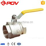 low price manual operated union end 3/4 inch brass float ball valve threaded
