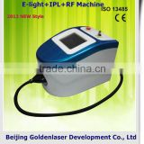 Acne Removal 2013 New Design E-light+IPL+RF Machine Redness Removal Tattooing Beauty Machine New Cosmetology Device Skin Whitening
