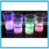 Beer Cup For PUB Wine Glasses Cup With Flashing Led Lamp Plastic Flashing Lamp Wine Cup For Pub Supplies