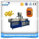 Puffed Cheese Ball curls Corn Snacks Processing Machine/production Line