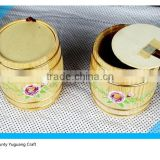 Wooden Gift Barrel ,Mug barrel , Coffee barrel