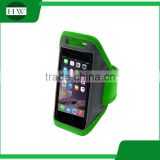 Waterproof mobile phone neoprene armband for running lycra armband LED armband case with key holder