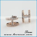 fashion jewelry earring set	,European and American high-grade earring design