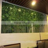 factory hot sale artificial bamboo fence decoration artificial bamboo stick