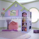 In stock - Bisini new product promotion kids wooden tree house/doll house bunk bed - BF07-70360