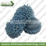 Nice-looking colorful cleaning sponge for car/chenille wash sponge/microfiber chenille wash pad