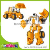 Hot sale educational deformation set metal toy bulldozer
