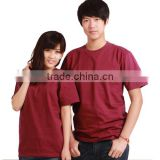 Blank t-shirts summer fashion T-shirt is popular with young people