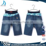 2017 Children clothing factory hand brushed new style boys children's wear jeans pants