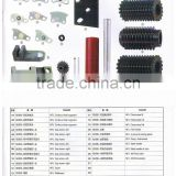 chain link, screw , join together plate, chain wheel , steel needle of cam , roller