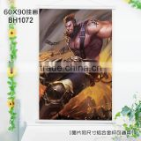 60*90CM Home Decoration Printing Wall Post King Glory Anime Wallscrolls Stickers Wholesale