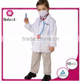 Onbest China supplier comfortable cute quality uniform doctor costume halloween&carnival career costume for children's cloth