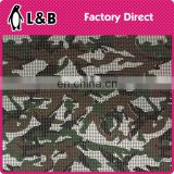 Wholesale aluminum material camouflage print metallic sequin fabric for garment bag shoes curtain