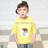 T-BH506 Cotton Spandex French Terry Boys Custom Crewneck Sweatshirt