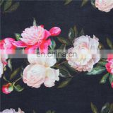 cheap direct factory custom cotton poplin floral 60s fabric