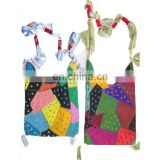 cotton embroidery patchwork designer canvas Bags