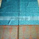 lady's colorful shawl