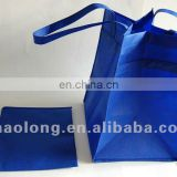 promotional custom logo printed non-woven shopping bag