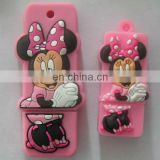 Cartoon mickey mouse pvc usb pen drive