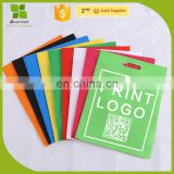 with logo non-woven fabric handlePromotional shopping bags wholesale factory price