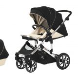High Landscape Baby Stroller 3-in-1