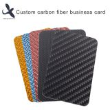 Custom Carbon Fiber Business Card Glossy Matte Black Carbon Fiber Card with Printing