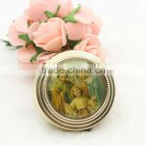 Hot sale religious metal pill box