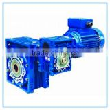 Chinese Industrial Factory Mechanical Power Transmission RV Series Speed reduction gearbox with motor