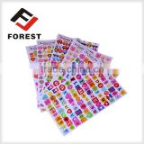 Supply custom adhesive cartoon sticker as kids sticker,labels for different shape of cartoons