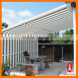 Curtain times outdoor window aluminum awning polycarbonate