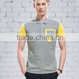 Fashion Cotton Man Clothing Polo T-shirt For Men China Factory Supplier                                                                         Quality Choice