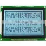 Fstn black white 128x64 dots matrix lcd display module with led backlight