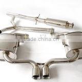 Catback Exhaust System for 02-06 BMW Mini Cooper S R53 Stainless Steel Mirror polished