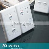 Australia standard wall switch, Australia standard wall socket, Australia standard double socket, vertical switch and socket                                                                                                         Supplier's Choice