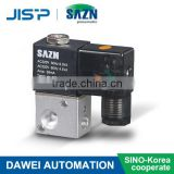 SAZN Pneumatic/Solenoid coil/Control Valve/3 way water solenoid valve 220v