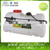 Electric Sprayer For ATV SEAFLO 100L 12V Electric DC Agriculture Tractor Boom Sprayer