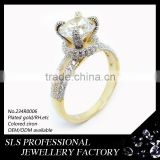 Jewelry fashion wholesale jewelry latest designs in 2015 micro pave jewelry CZ silver 925 new model ring