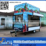 New Type CE approve Mobile Catering Food Trailer Catering Food van(manufacturer)