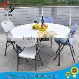 2015 hot sale and luxury design round rotating dining table