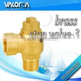 angle brass stop valve for controlling flow