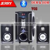 6 inch professional active subwoofer speakers With USB/SD/FM/ BLUETOOTH