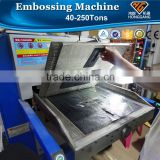 hydraulic plane leather manual embossing machine                                                                         Quality Choice