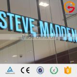 Hotsale shop name letter design 3d led hanging light up shop signs                                                                                                         Supplier's Choice