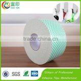 Any shape Die cutting service Hook Loop fastener Tape with high sticker for Holding using