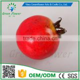 Greenflower 2016 Wholesale artificial fruit pomegranate China handmake forma fruit for school resturant decoration
