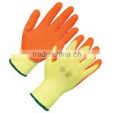 Super quality double palm leather safety work glove for sale GL4055