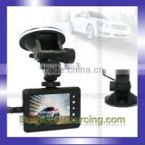 Cheap New Separate Camera 2.8 inch LCD Screen HD 720P Car DVR USB 2.0 Reversing Rear View Car Camcorder